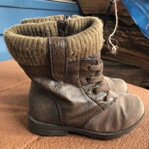 """Carter's """"Angelina"""" brown suede boots"""